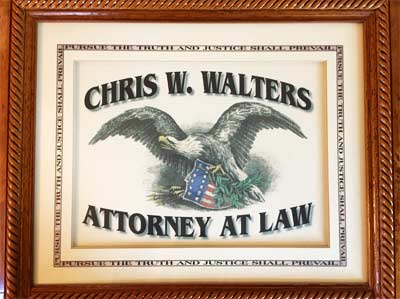 Chris W. Walters - Attorney at Law